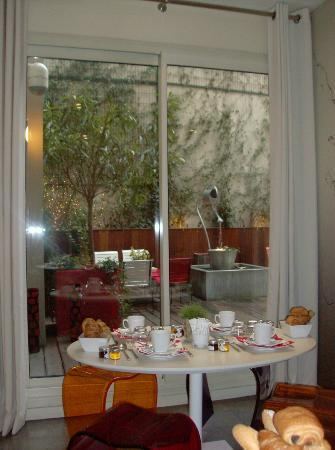 Ibis Paris Gare de Lyon Reuilly: la salle du petit déjeuner