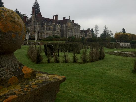 Rhinefield House Hotel: Rhinefield house from the garden