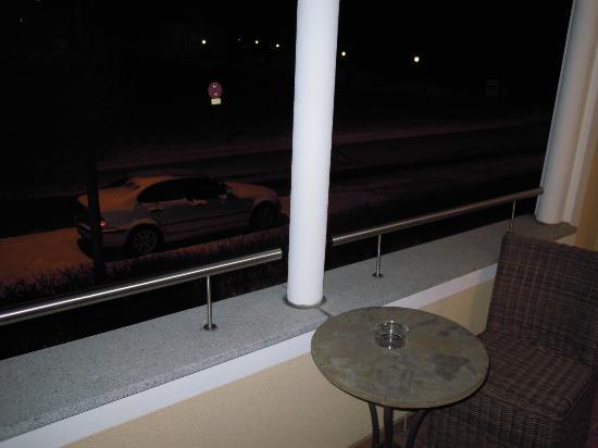 Ampervilla Hotel: Balkon