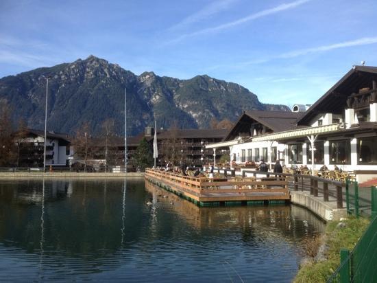 Restaurant Riessersee Hotel Sport & SPA Resort: nice view:)