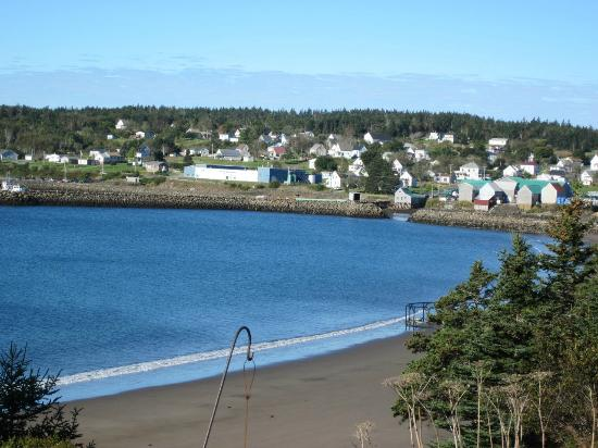 Grand Manan, Kanada: Seal Cove as seen from cottage # 1
