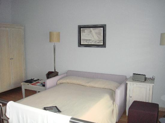 Resort Baia Scarlino: Living room upstairs