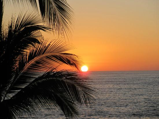 Lindo Mar Resort: sunset at Lindo Mar
