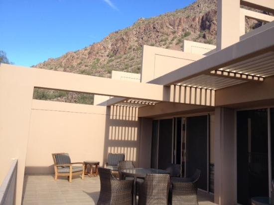 The Phoenician, A Luxury Collection Resort, Scottsdale: View from our suite balcony