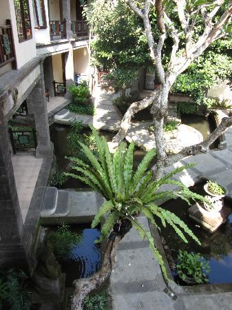 Puri Mesari Hotel & Suites: Blick vom Balkon