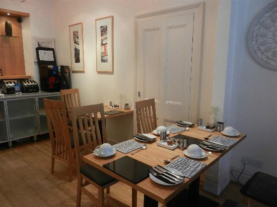 Treliska Guesthouse: Frühstücksraum