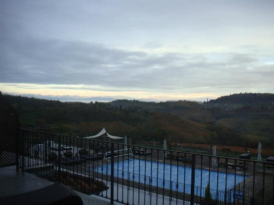 Golf Relais Monforte: view from our room 1