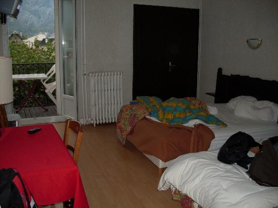 Hostellerie de la Poste: Apartamento espaçoso