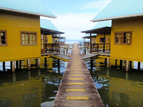 Koko Resort: Over water cabinas