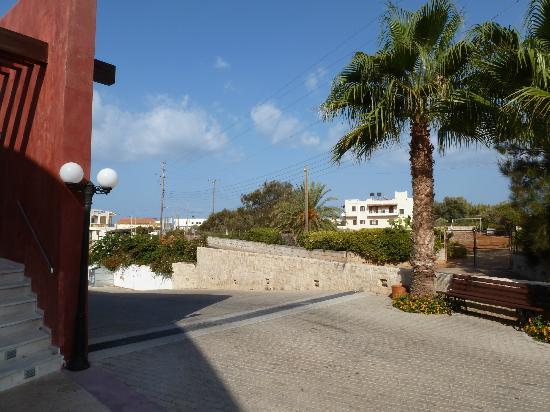 Kosta Mare Palace Hotel: vue de l'entrée de l'hôtel