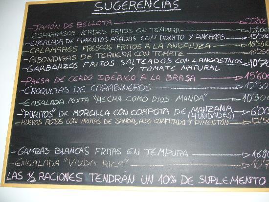 Restaurante la Viuda Rica: Recibimiento