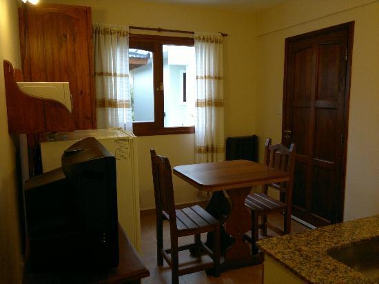 Posada Las Dunas: Living-Comedor Apartamento 2 personas