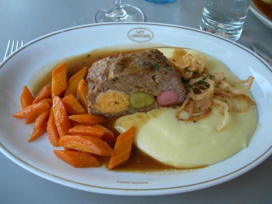 """Cafe Landtmann: un """"plat du jour"""" des plus colorés ..."""