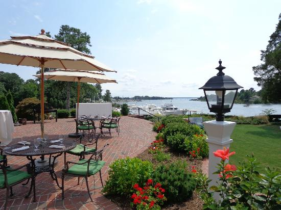 Scenes from the Tides Inn Restaurants, amenities & marina!
