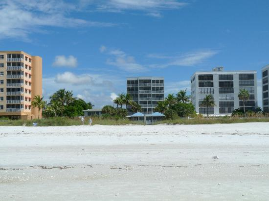 Beach Club I: View of resort from beach