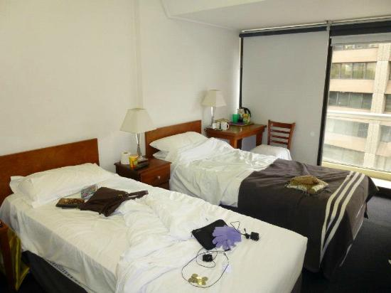 Song Hotel Sydney: twin room