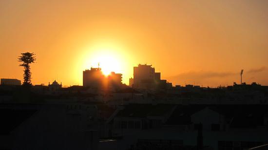 Loule Jardim Hotel : Sunrise in Loule