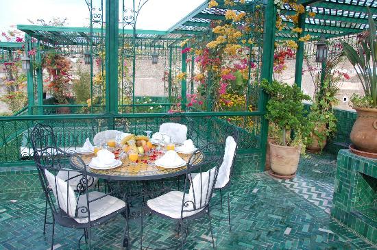 Riad La Maison Verte: Terraces