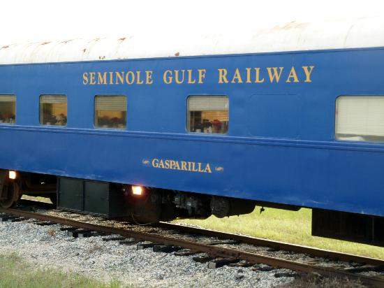 Seminole Gulf Railway Murder Mystery Dinner Train : train