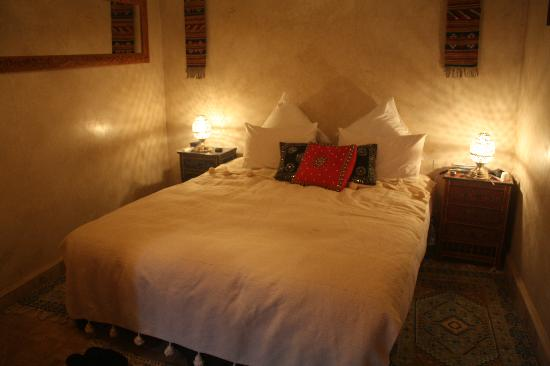 Riad Zolah: Our lovely room