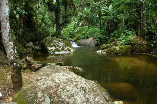 Pousada Bromelias: Cachoeira próxima ao Spa