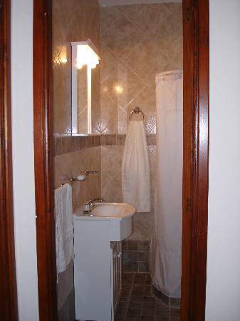 Posada Las Dunas: Toilette Apartamento 4 personas