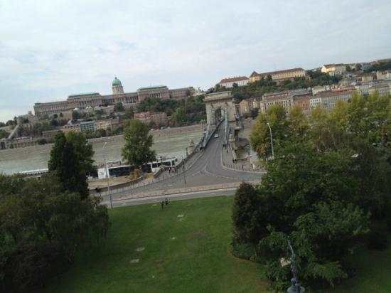 Four Seasons Hotel Gresham Palace: View from a Danube River View Room/Suite