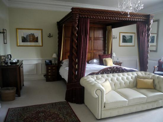 Goldsborough Hall: One of their many delightful rooms (we were allowed to explore)