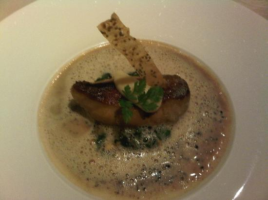 Lafarques: Foie gras with truffle cream
