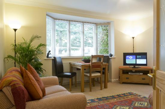 Poplar House Serviced Apartments: Lounge and Dining Area. Apt No. 1