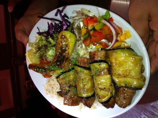 Istanbul BBQ: Aubergine Kebab - Yum Yum
