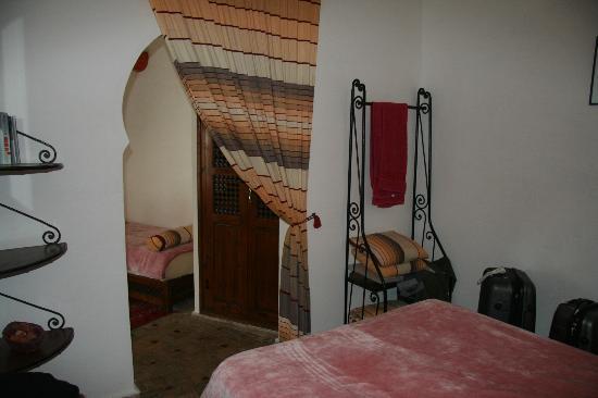 Riad l'Ayel d'Essaouira : Chambre Mourcharabie