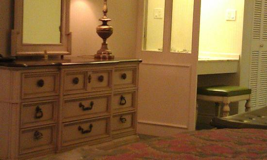 Little America Hotel Flagstaff: Had to include this picture of the lovely French country furniture.
