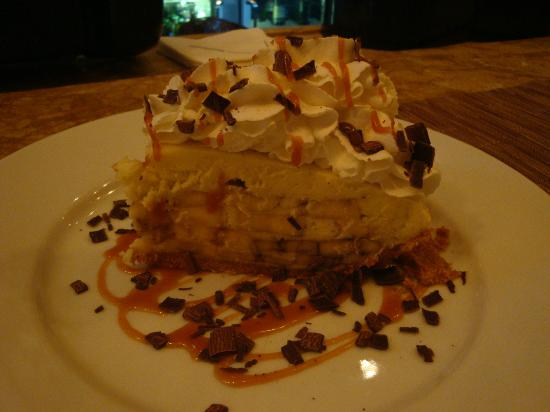 Delmonico Steakhouse: Best banana cream pie ever!