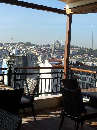 Galata La Bella Hotel : View from roof terrace
