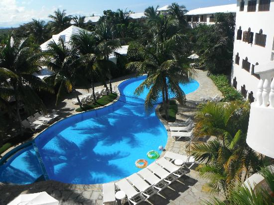 Coconut Palms Resort: View from the 3rd floor