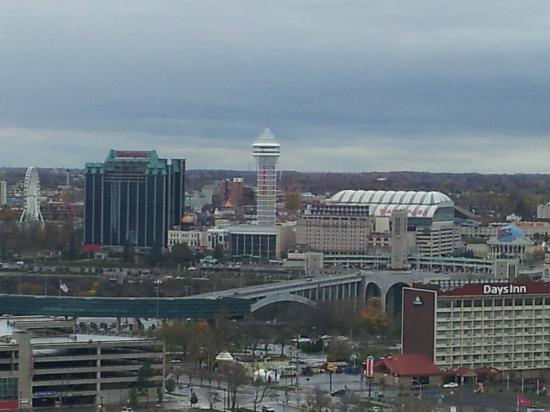 Seneca Niagara Resort & Casino: view of Niagara Falls Ontario