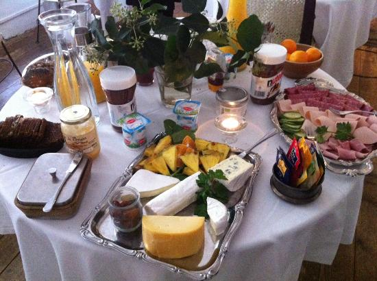 Maison Christina: Desayuno