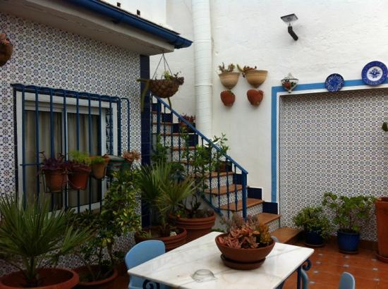 Hostal Guadalupe: terrasse commune