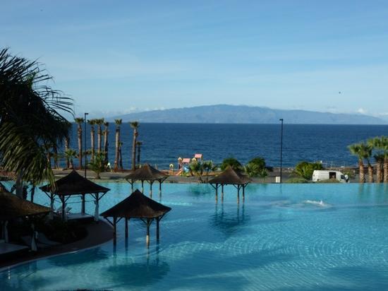 Gran Melia Palacio de Isora Resort & Spa: lagon piscine