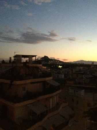 BEST WESTERN Acropolis Ami Boutique Hotel : a view of the city from our balcony