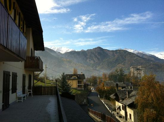 Hotel Rendez-Vous: View from our balcony 1