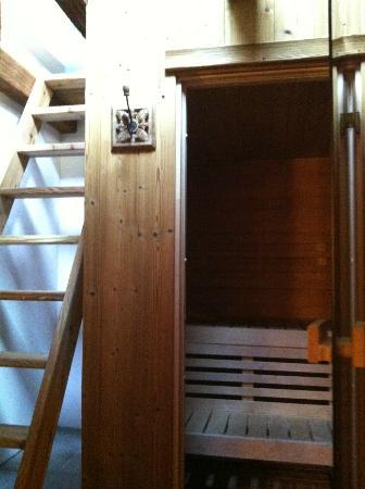 Hotel Rendez-Vous: Sauna/Steam Room
