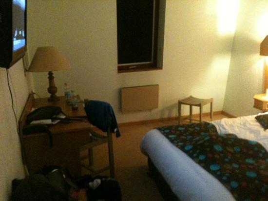 Hostellerie St-Vincent : chambre