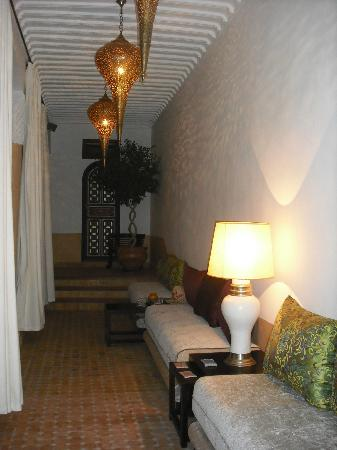 Riad Al-Bushra: 1st Floor Terrace/Sitting Area