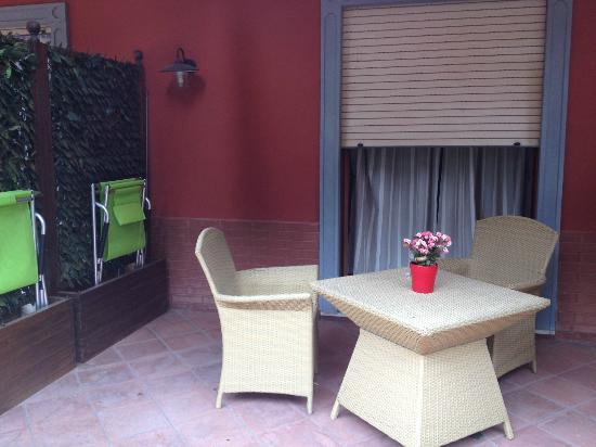 Green House Sorrento: il meraviglioso terrazzino....relax totale!