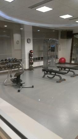Hilton Garden Inn Denver Cherry Creek: Fitness room second half