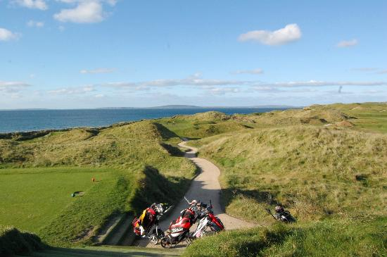 Ballybunion Golf Club: short par 3 on the old course 165 yards