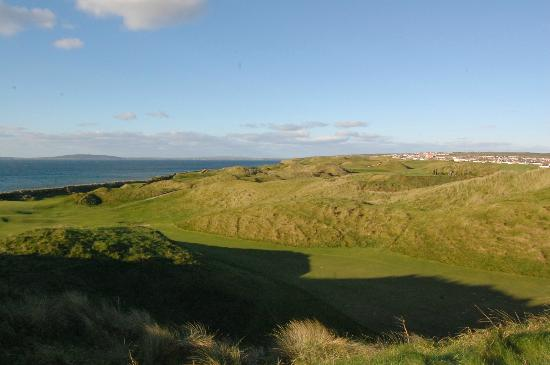 Ballybunion Golf Club: Atlantic view