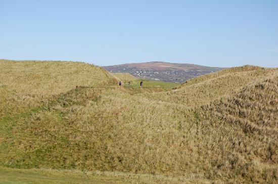 Ballybunion Golf Club: Cashen course sand dunes